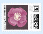 Floral Wedding Postage Stamp