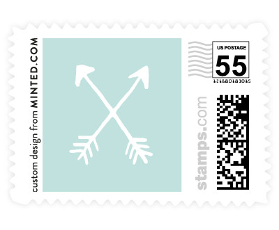 'Arrowhead (B)' postage stamps