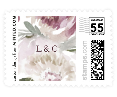 'Romantic Bouquet' stamp