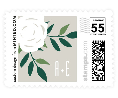 'Blushing (C)' wedding postage