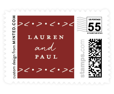 'Pure Simplicity (C)' wedding stamps