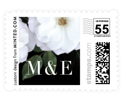 'Heirloom Roses' wedding stamps