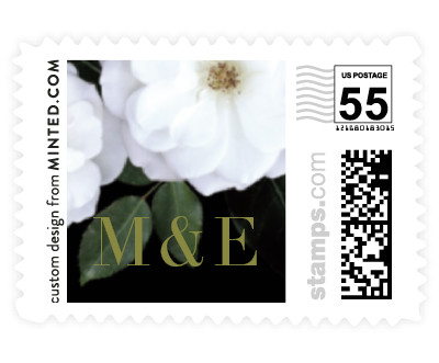 'Heirloom Roses (D)' postage stamp
