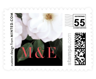 'Heirloom Roses (E)' stamp