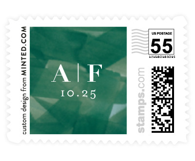 'Modern Abstract (C)' postage stamps