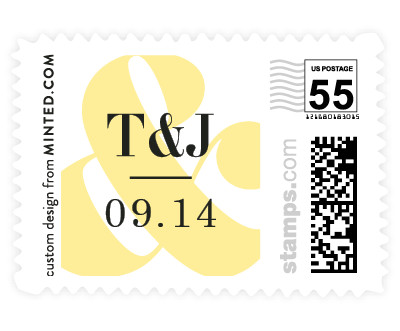 'Ampersand Love (D)' postage stamps