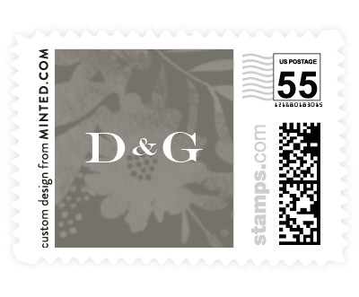 'Floral Screenprint (C)' stamp