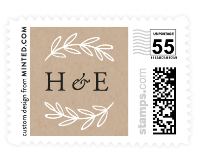 'Gilded Evergreen (H)' postage stamp