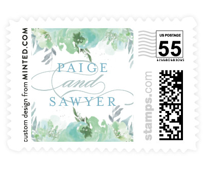 'Big Blooms (B)' postage stamps