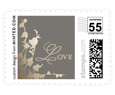 'In Bloom' wedding postage