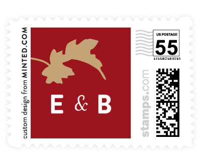 'Autumn In New York (D)' stamp design