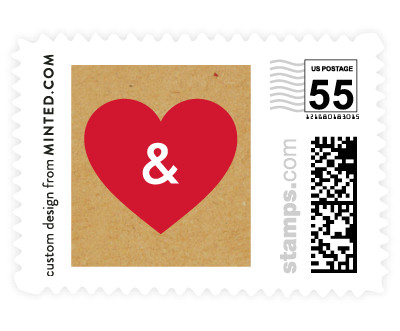 'Textbook Love Story' postage