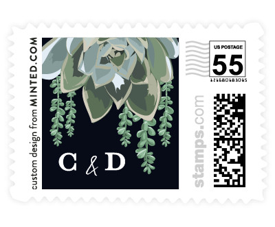 'Agave & Greens (D)' postage stamps
