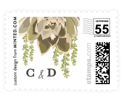 'Agave & Greens (F)' postage