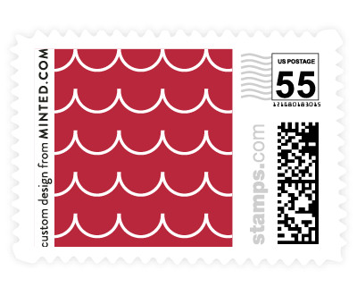 'Sweet Scallop (C)' postage stamp