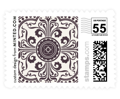 'Ornamental (D)' postage stamps