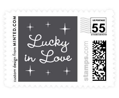 'Lucky In Love' postage stamp