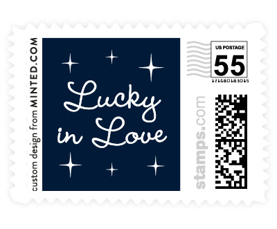 'Lucky In Love (B)' stamp