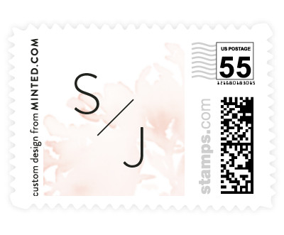 'Etheral Bouquet' stamp design