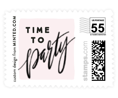 'Bridal Party Party' postage