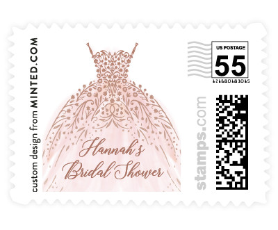 'Floral Spray' stamp