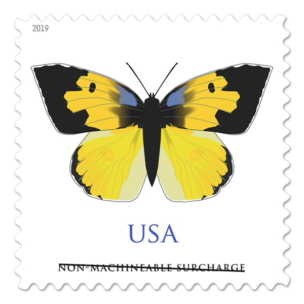 California Dogface non-machineable stamp
