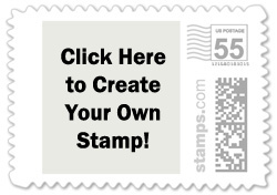 Create Your Own Wedding Stamp