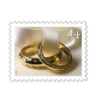 $0.44 Wedding Stamp